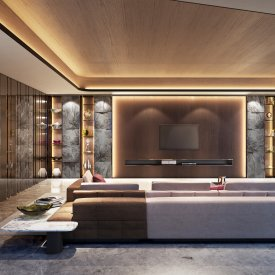 Marina Bay Residences Living